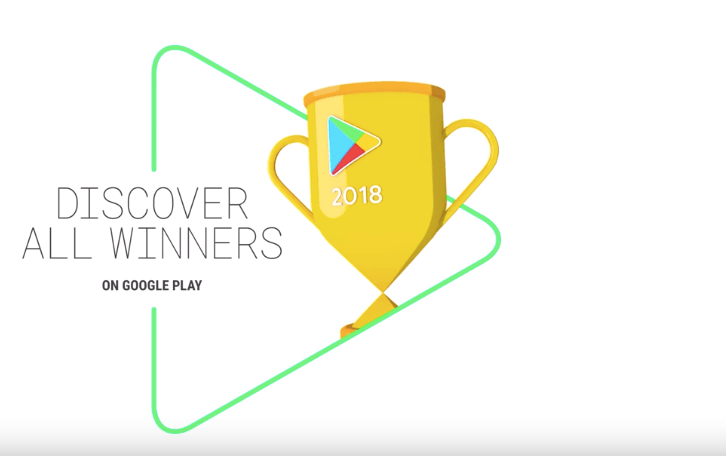 Google consegna gli Oscar 2018 a 5 app del Play Store