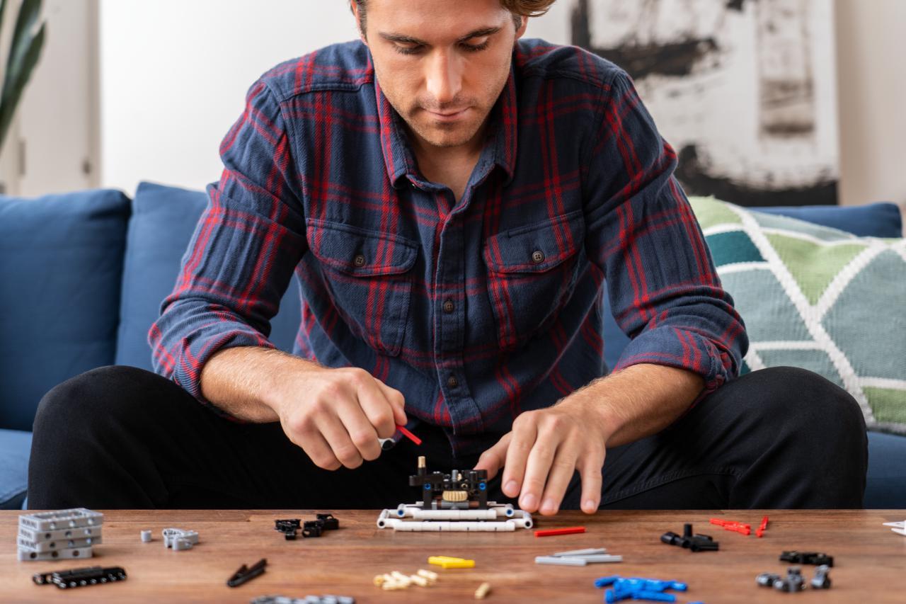 LEGO ha creato una linea di giochi per alleviare lo stress e stimolare la creatività degli adulti