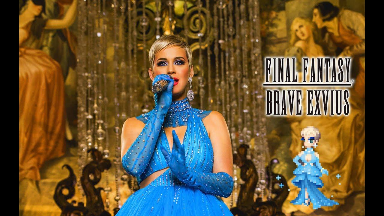 Katy Perry ha deciso di trasformarsi in un personaggio di Final Fantasy