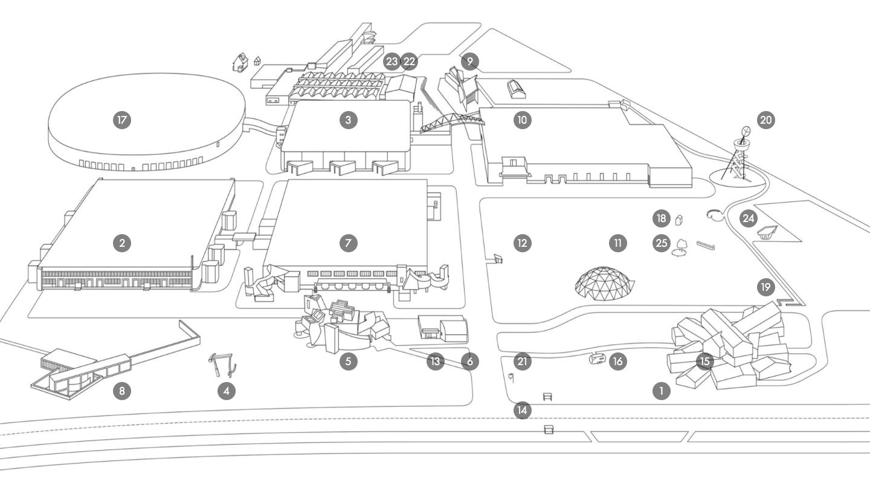 Vitra Campus Architecture