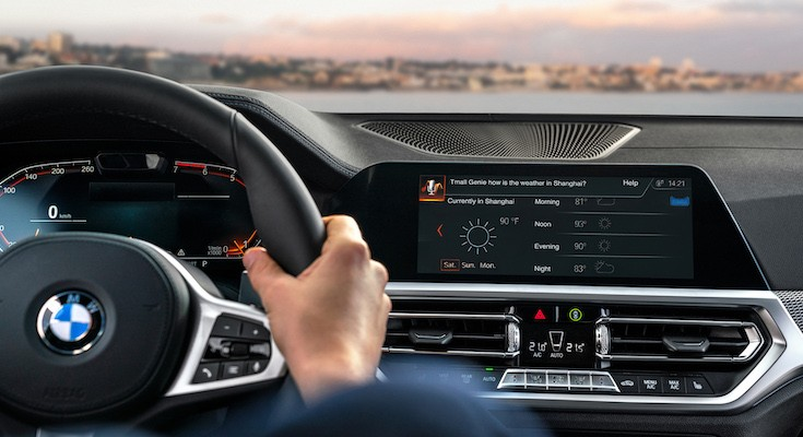 CES 2019 | L'assistente vocale di Alibaba sale a bordo delle BMW
