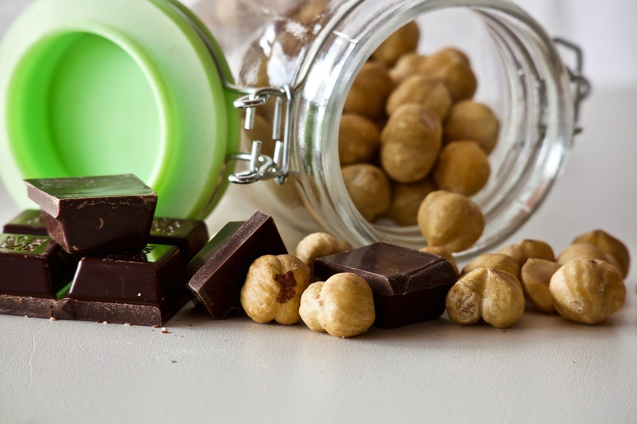 Nocciole italiane e cacao italiano