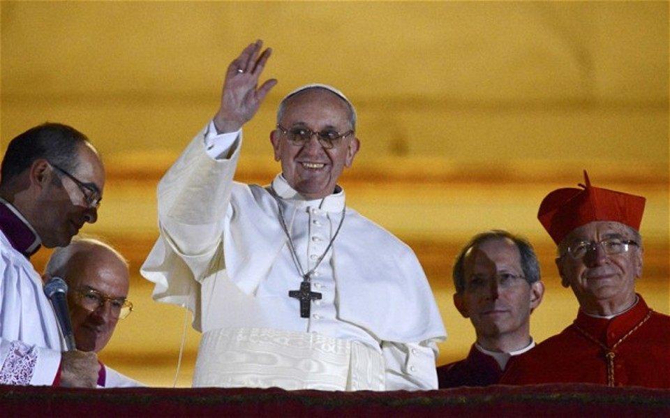 Come parlare in pubblico restando sé stessi? Il primo discorso di Papa Francesco