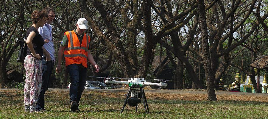 drone biocarbon engineering pronto al decollo