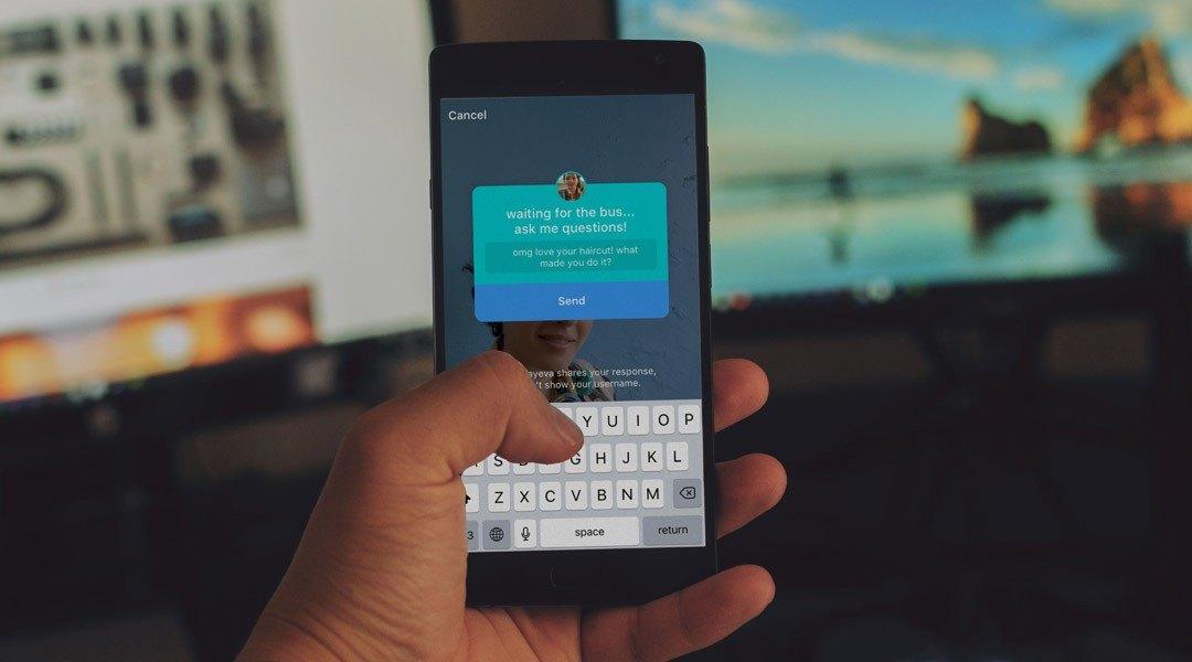 6 consigli per usare l'adesivo per le domande nelle Instagram Stories