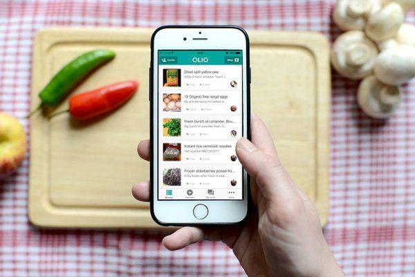 olio: app per la condivisione del cibo