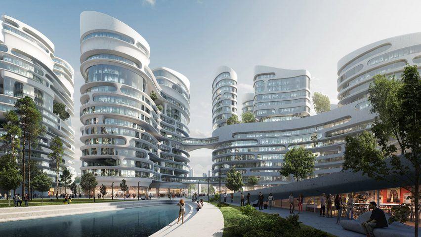 """Vicino a Mosca si costruisce la prima """"città felice"""", attenta alla tecnologia ma anche alle persone"""