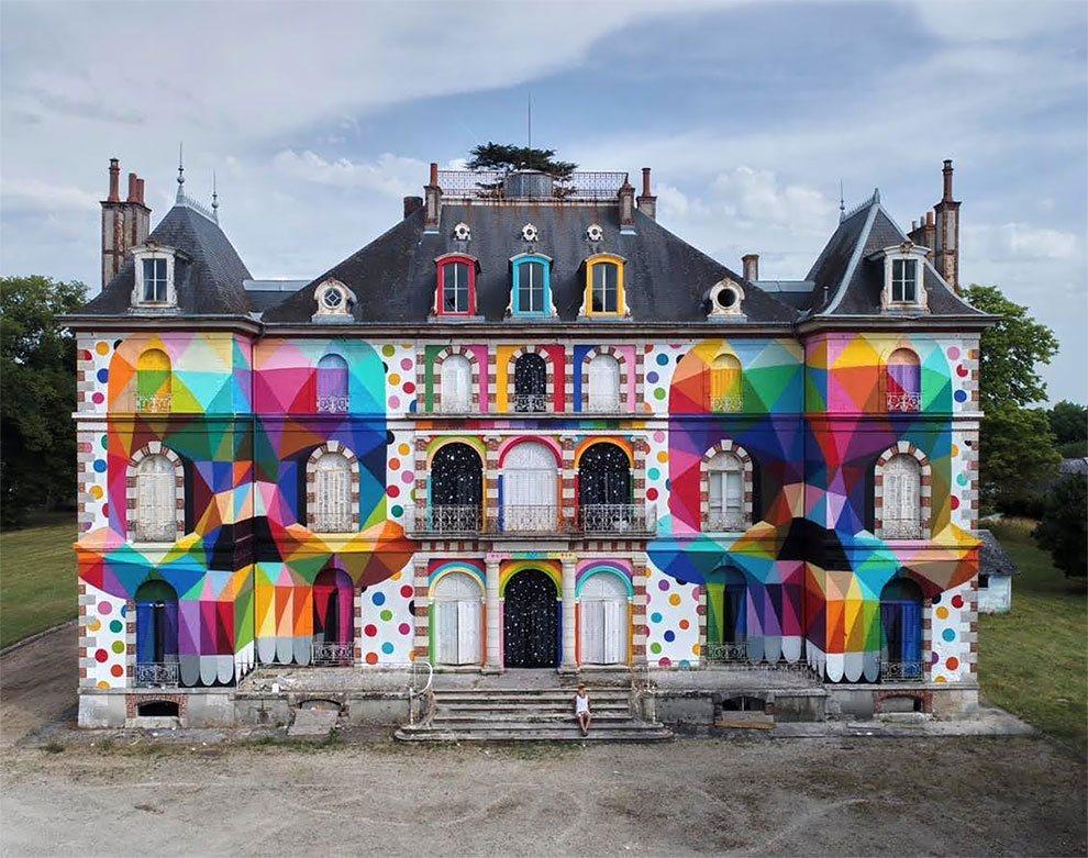 Okuda e Harow: quando la street art incontra il design