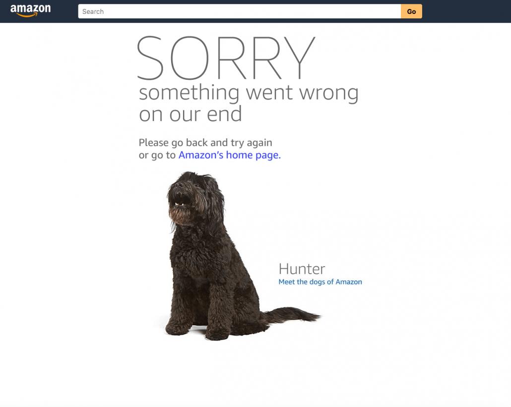 amazon 404 error page