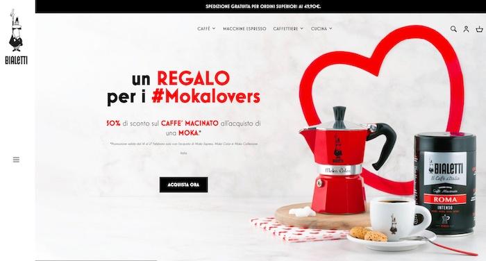 Bialetti presenta il nuovo sito curato da Triboo. E cerca il ri-lancio digitale