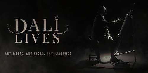Dalí Lives, il nuovo progetto di Intelligenza Artificiale con il quale il Salvador Dalí torna in vita