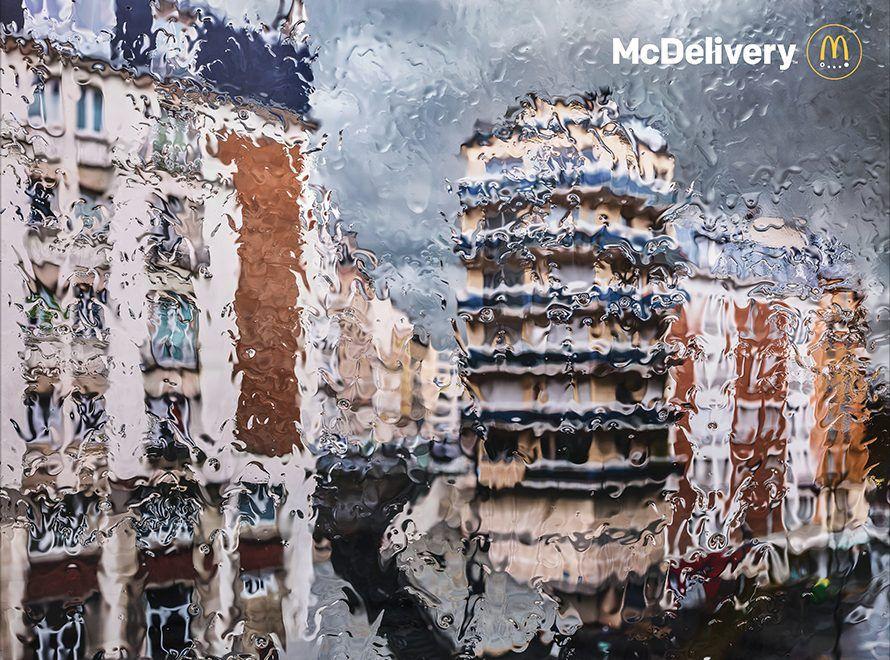 Rain, la nuova campagna firmata da TBWA Paris per McDonald's