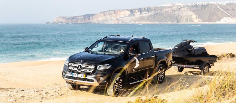 Mercedes-Benz mette alla prova 7 atleti per la campagna della sua Classe X