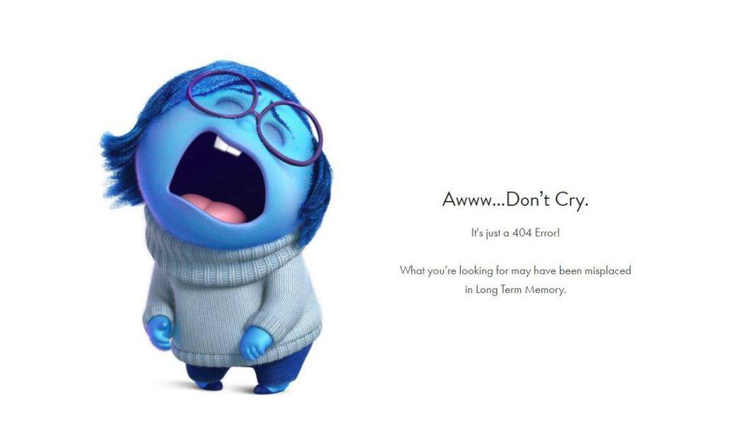 error 404 pixar
