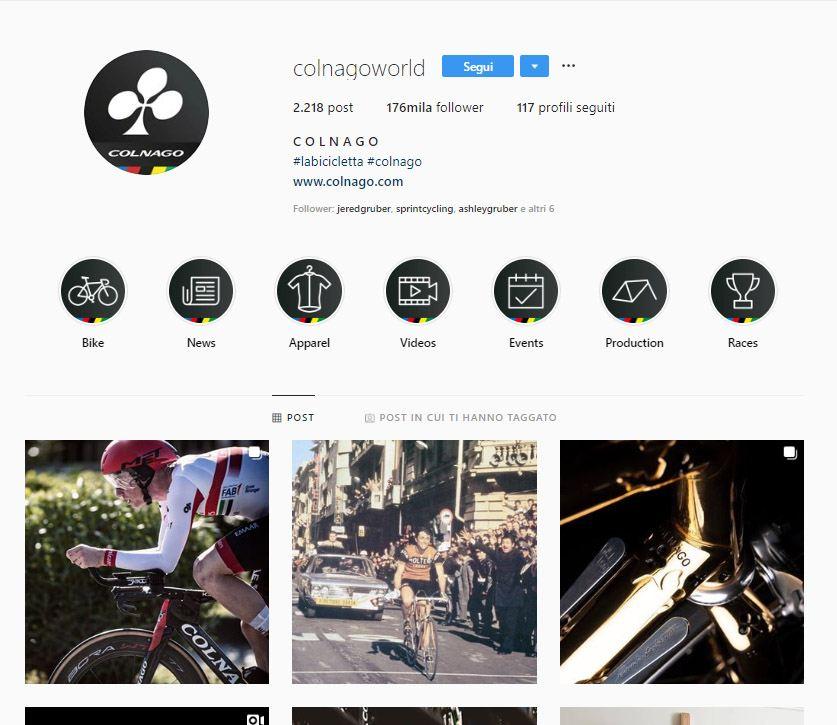4 consigli per usare i contenuti in evidenza su Instagram_colnago