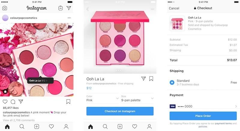 Instagram vuole proprio diventare un eCommerce e lancia Checkout
