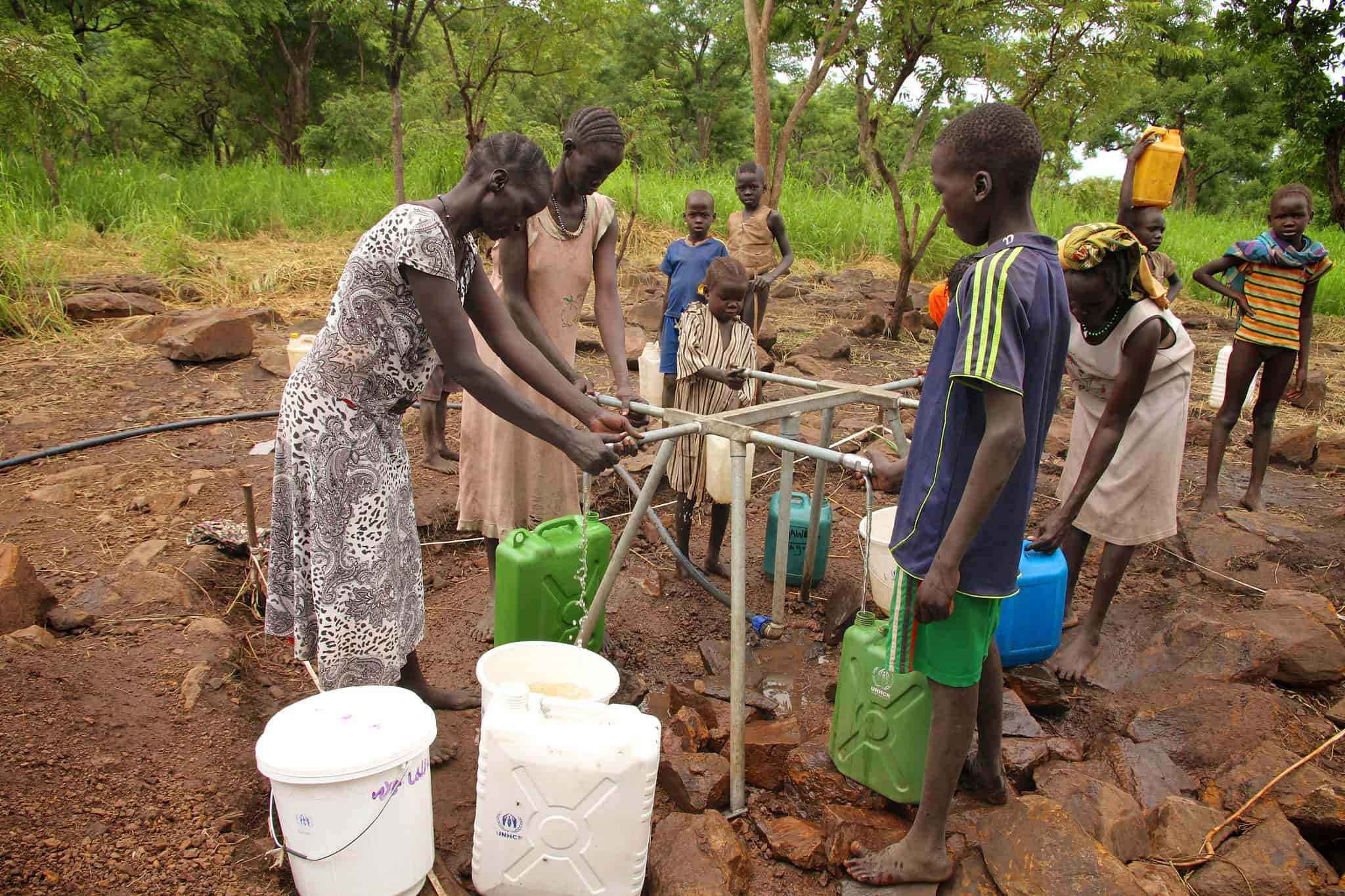 accesso all'acqua nel mondo