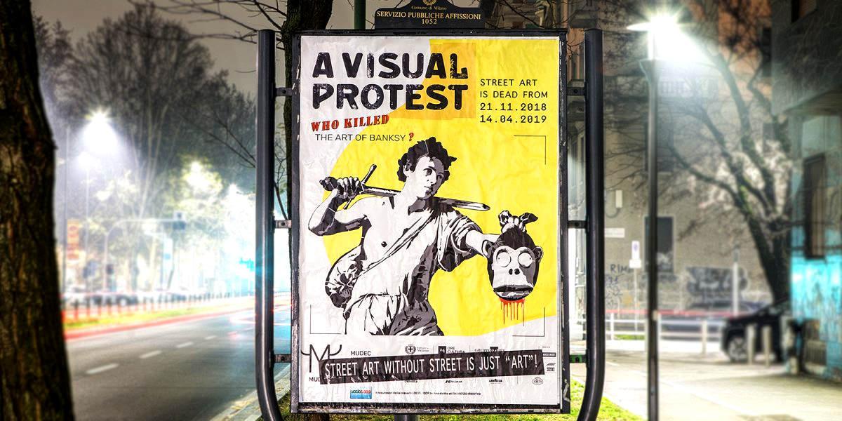 La denuncia di Banksy al Mudec Milano potrebbe non essere una semplice questione legale