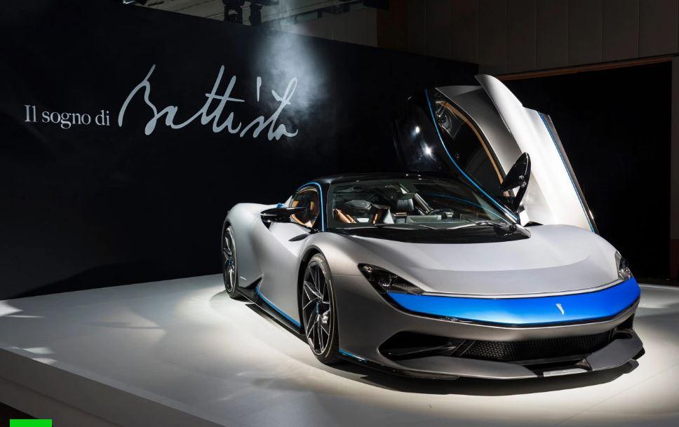 L'auto elettrica di Pininfarina si chiama Battista ed è più veloce di una Formula 1
