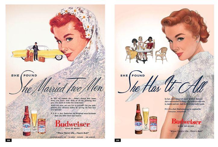 Budweiser ribalta i suo vecchi annunci e immagina come sarebbero oggi le pubblicità della sua birra