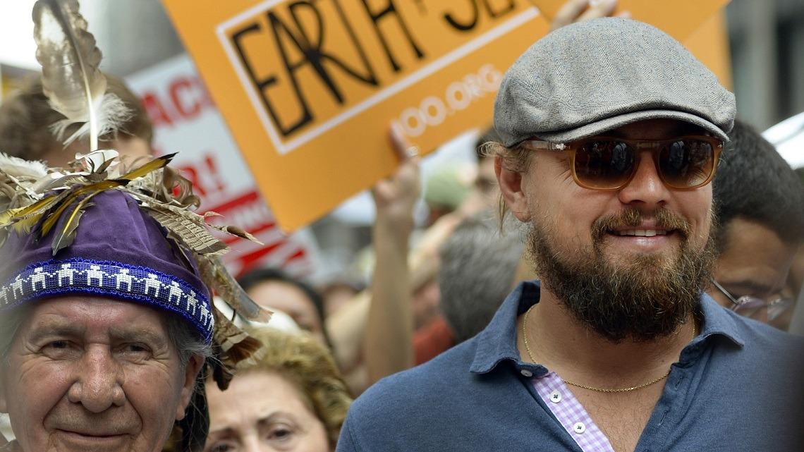Per DiCaprio l'alternativa alla distruzione del pianeta c'è e si chiama eco-banca