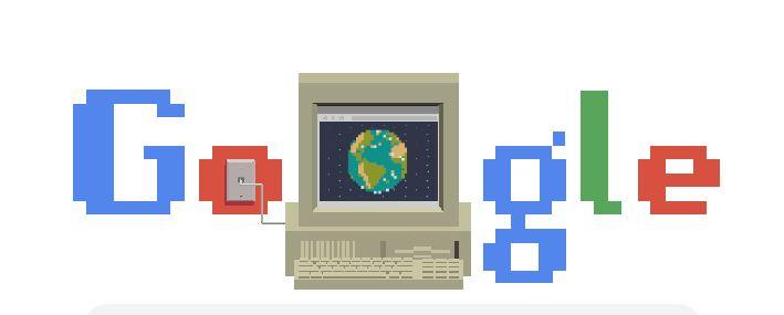 Anche Google festeggia i 30 anni del World Wide Web con un Doodle dedicato