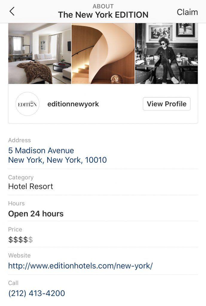 instagram local business