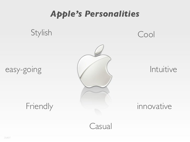 apple personality