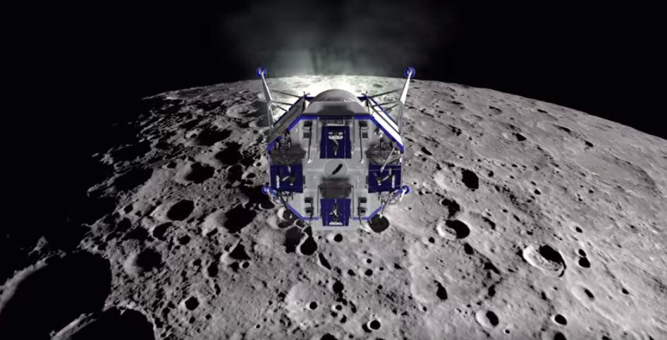 Jeff Bezos vuole tornare sulla luna nel 2024 (al posto della NASA) e presenta il lander Blue Moon