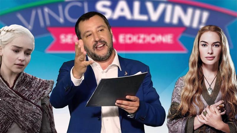 Bye bye vecchia politica, con il videogame di Decaro e il Vinci Salvini diventa tutto un gioco