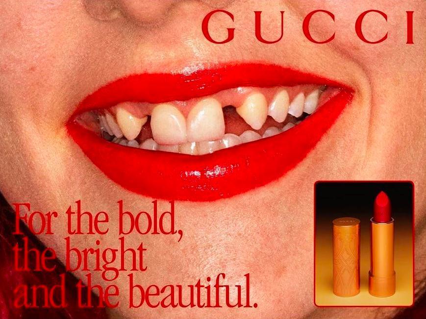La nuova campagna di Gucci ci mostra finalmente la bellezza come imperfezione
