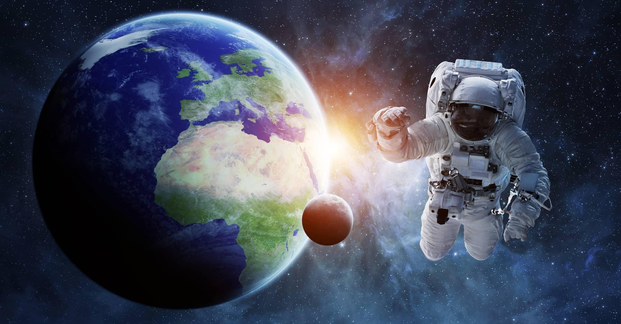Il futuro dell'esplorazione spaziale: un viaggio Terra-Marte (passando per la Luna)