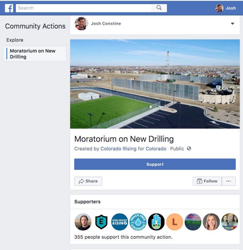 FacebookCommunityActions