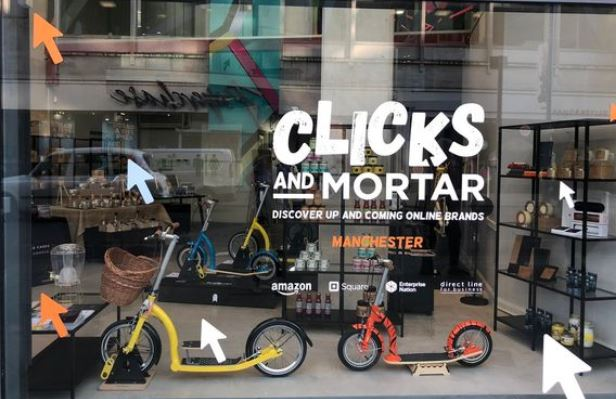 Amazon sta per aprire 10 pop-up store nel Regno Unito: si chiameranno Clicks and Mortar