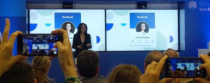 Sheryl Sandberg ha detto che la formazione digitale è tra le sfide principali di Facebook