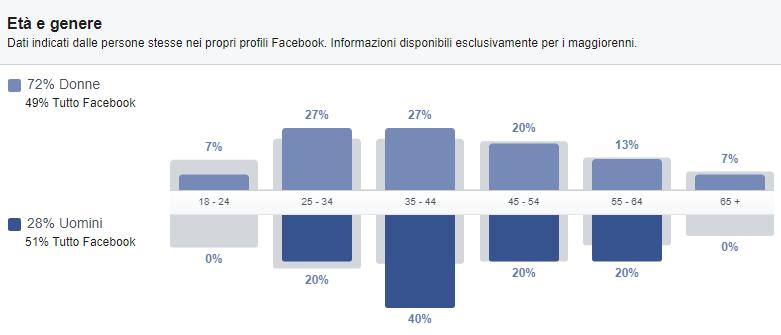 piano di marketing facebook fb insights