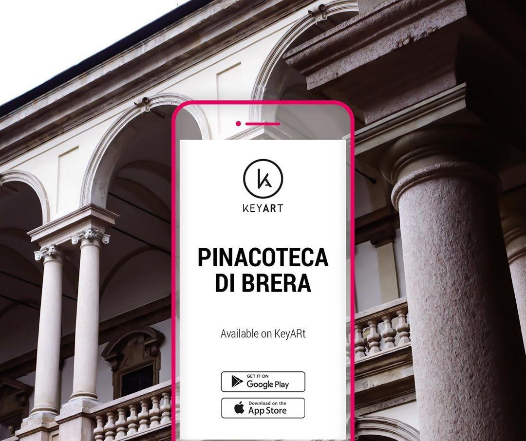 app per musei, pinacoteca di brera, keyart