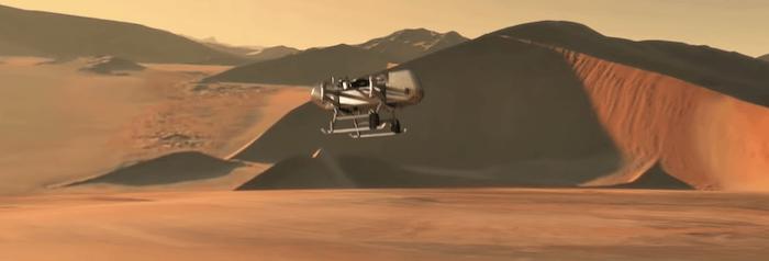 La NASA vuole esplorare Titano, la luna di Saturno, con un drone gigante