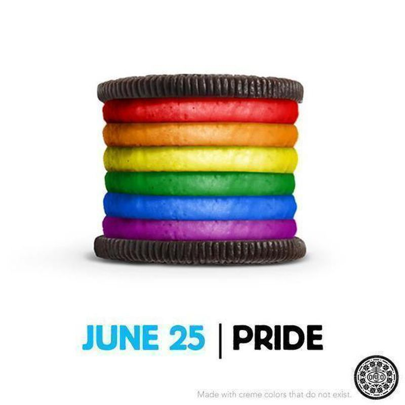 oreo, pride month, gay pride