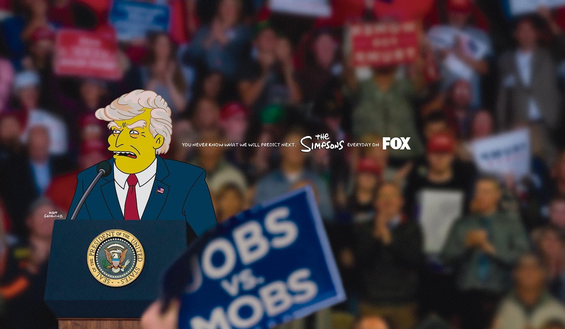 I Simpson, Veen e Lime: i migliori annunci stampa della settimana