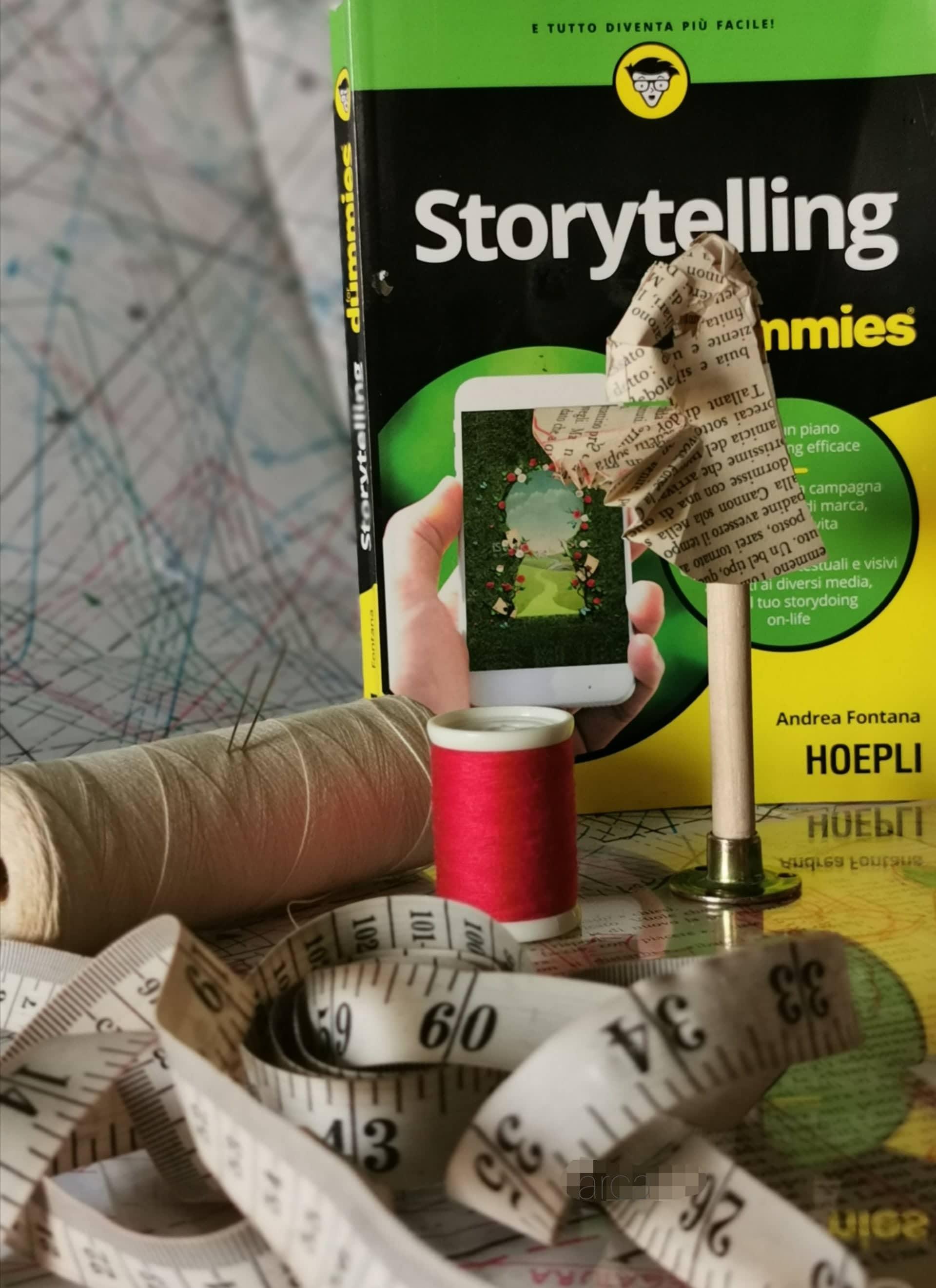 La narrazione è un habitat dove abitiamo, viviamo, competiamo: Storytelling for dummies di Andrea Fontana