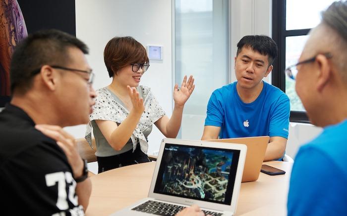 Apple apre un acceleratore in Cina per scovare i nuovi talenti del design