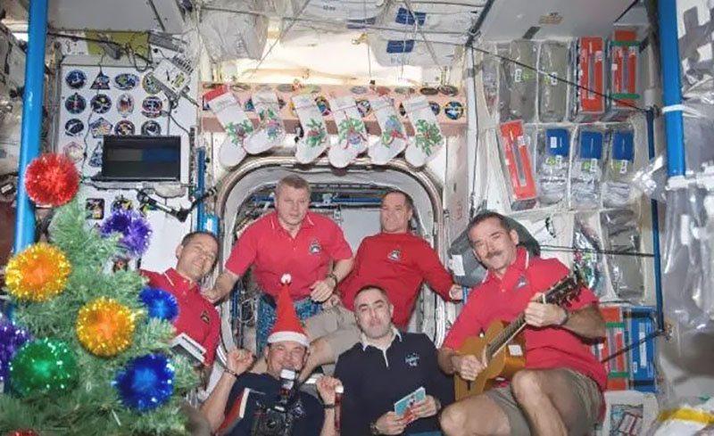 Natale nello spazio