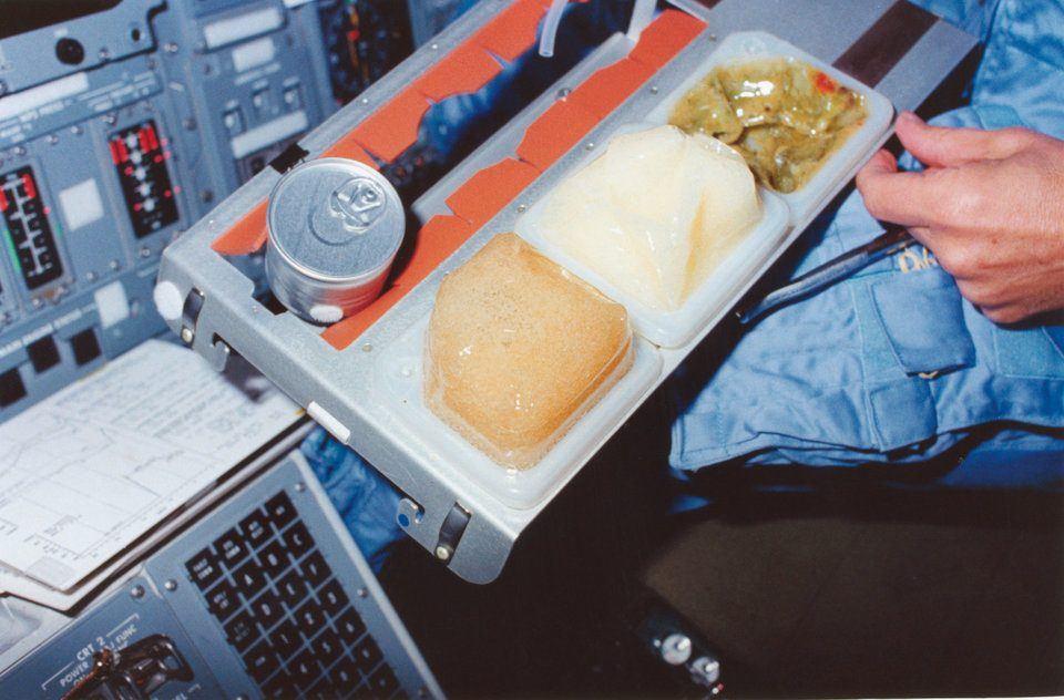 Alimenti freschi nella stazione spaziale