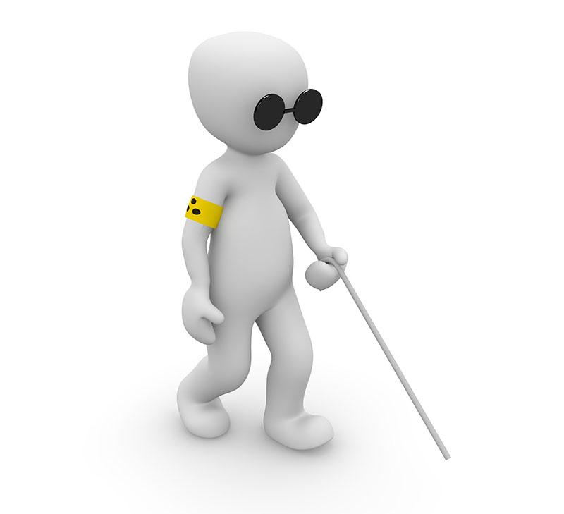 disabilità visiva