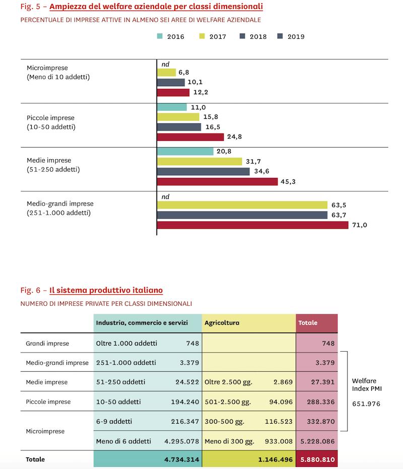 repporto welfare indelx pmi 2019