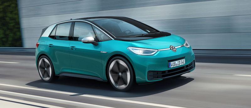 Volkswagen ha svelato la sua ID.3: l'auto 100% elettrica da 30 mila euro