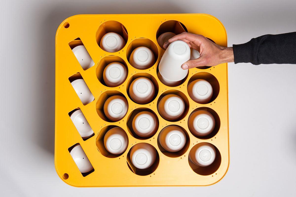 CupClub: la tazza di caffè sostenibile che puoi riutilizzare 132 volte
