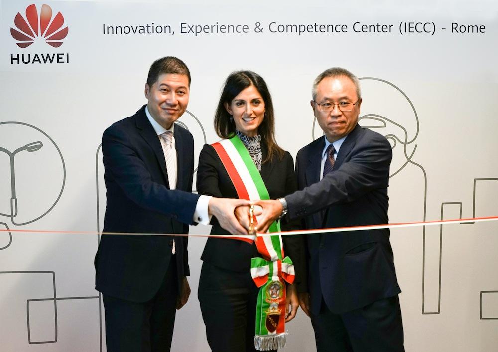 Huawei ha inaugurato i nuovi uffici a Roma
