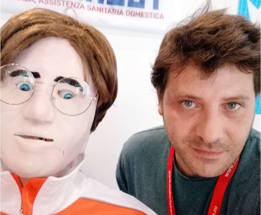 Fabio Casciabanca e Jerry Manbot a Maker Faire